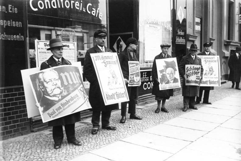 1932 Election Campaign Signs