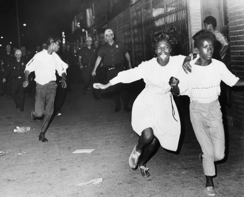 Race Riot In 1960s Brooklyn Photo