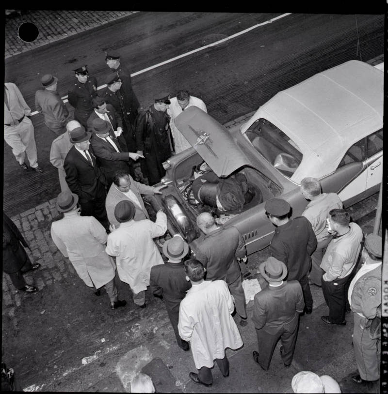 Mafia Killing In Brooklyn In The 1960s