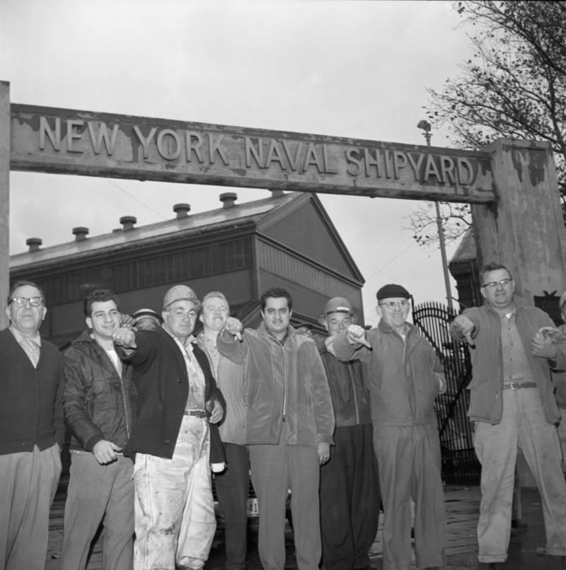 60s Brooklyn Navy Yards