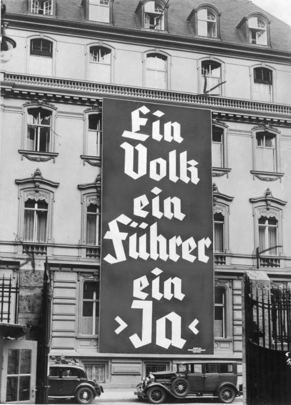 Adolf Hitler 1933 Election