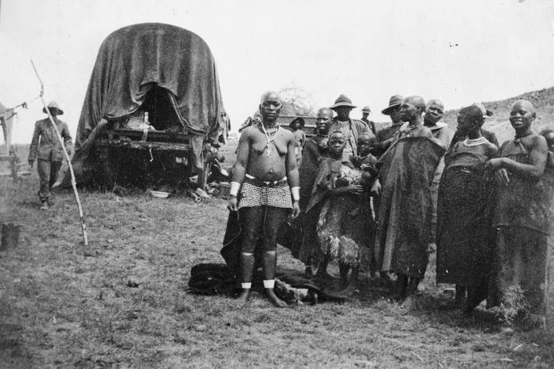 Africans In British Camp