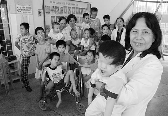 Agent Orange Handicapped Children