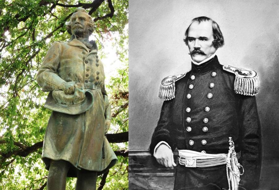Albert Sidney Johnston Statue