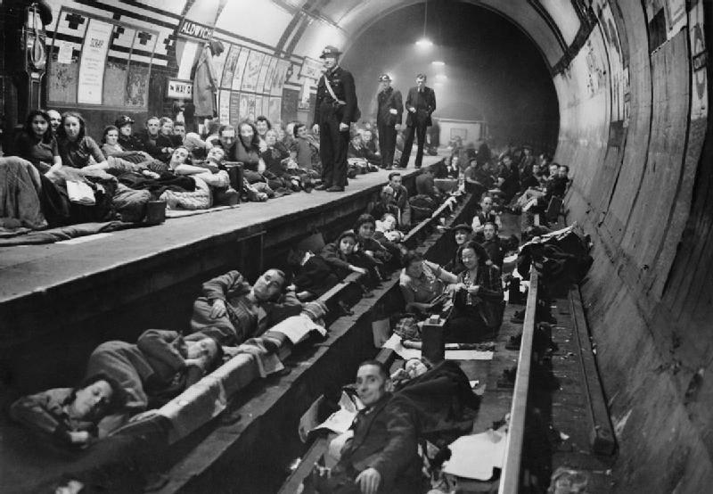Aldwych Tube Station Shelter