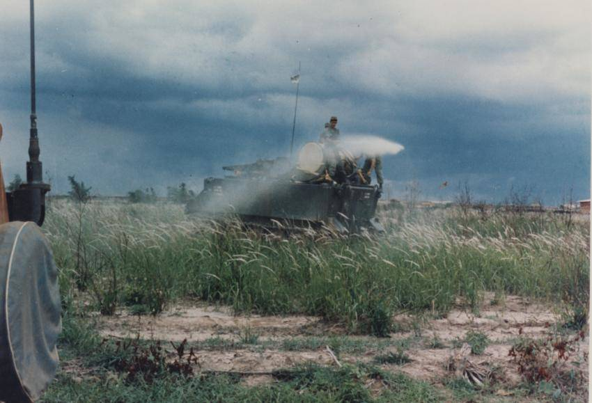 Atv Spraying Agent Orange