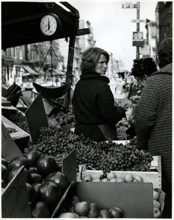 Avenue C Fruit Stand 1965