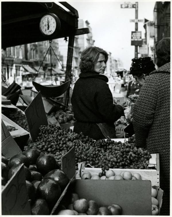 Avenue C Fruit Stand 1965