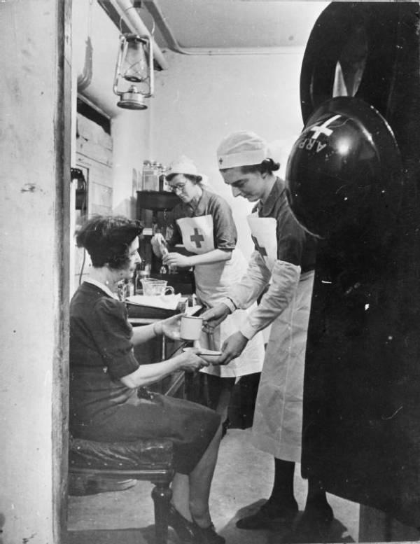 Bandaging A Patient