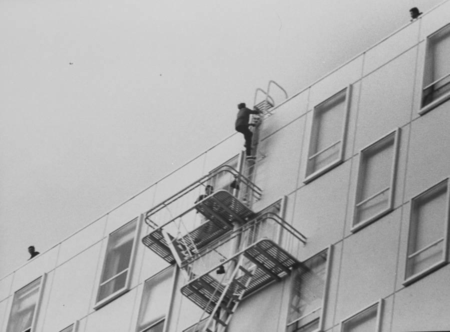Beatlemania Fire Escape Stalkers