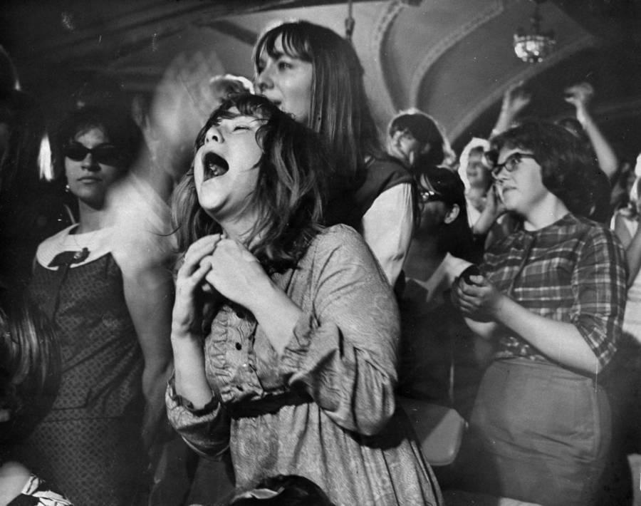 Beatlemania Hysterical Fans