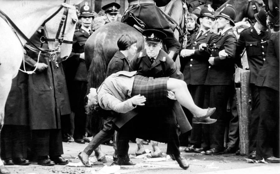 Beatlemania Pieta Pose