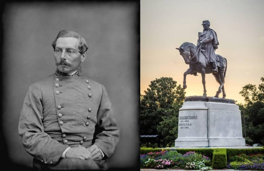 Beauregard Statue
