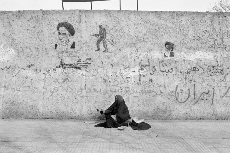 Begger Woman Iran