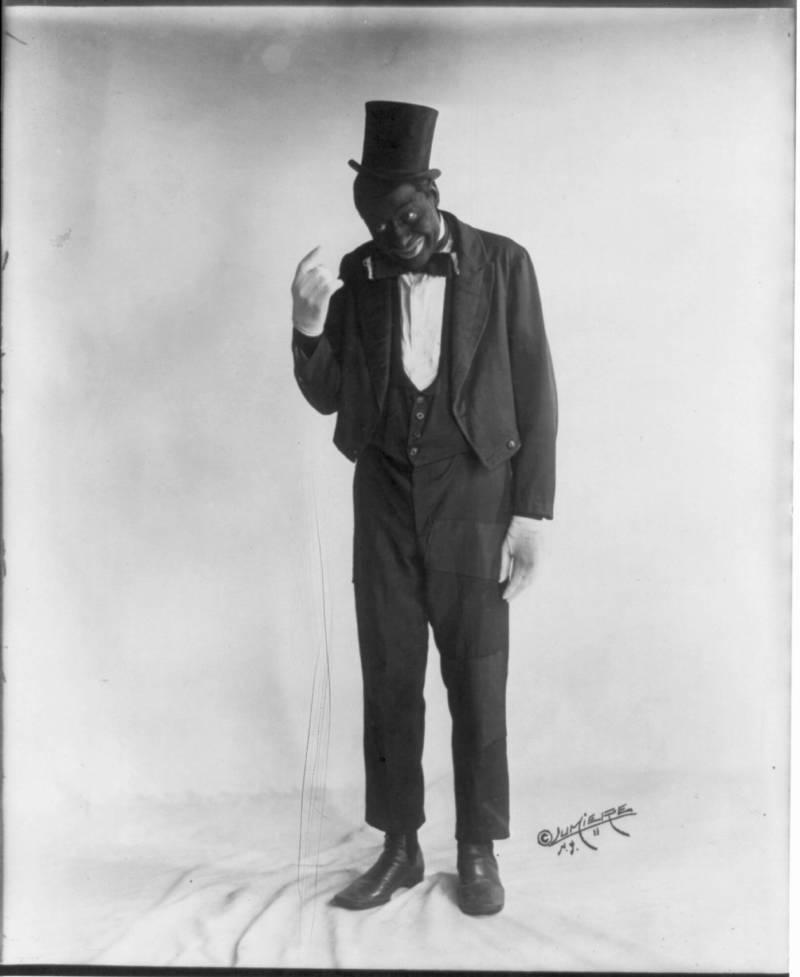 Bert Williams Blackface Minstrel