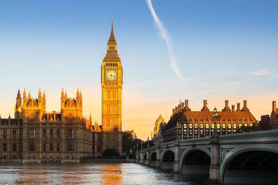 London Buildings Big Ben
