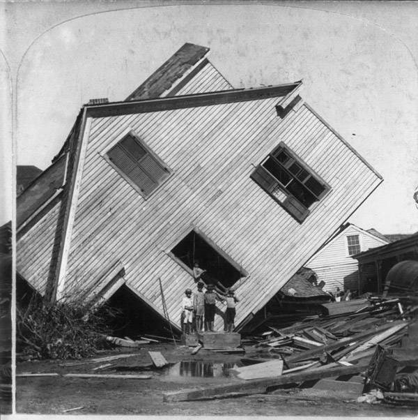 Photos From The Galveston Hurricane Of 1900