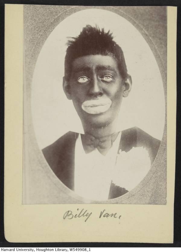 Billy Van Blackface Minstrel