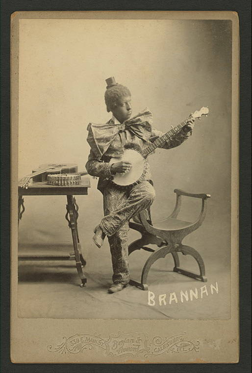 Blackface Banjo Player