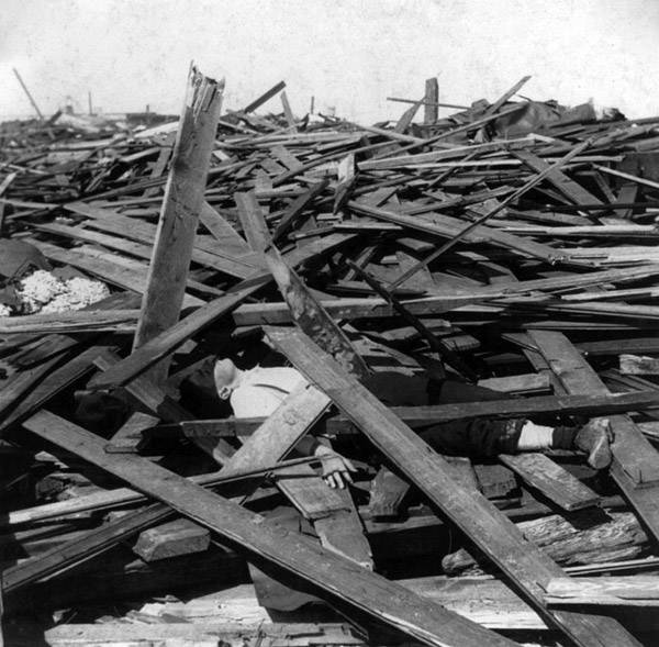 Victim Of The 1900 Galveston Hurricane