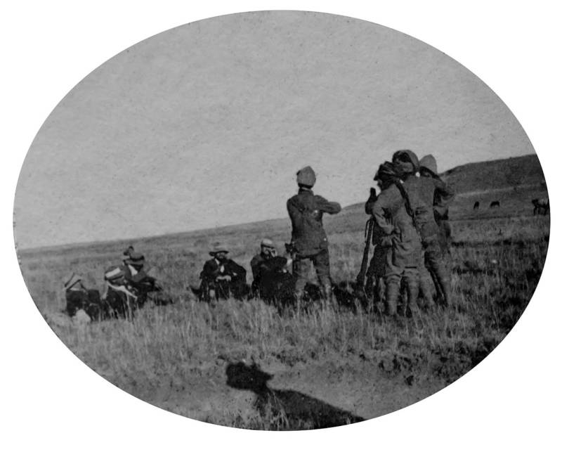 Boers Under British Guard