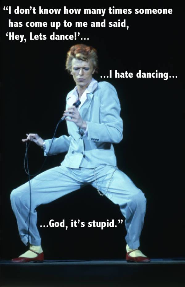 Bowie Dancing Quote