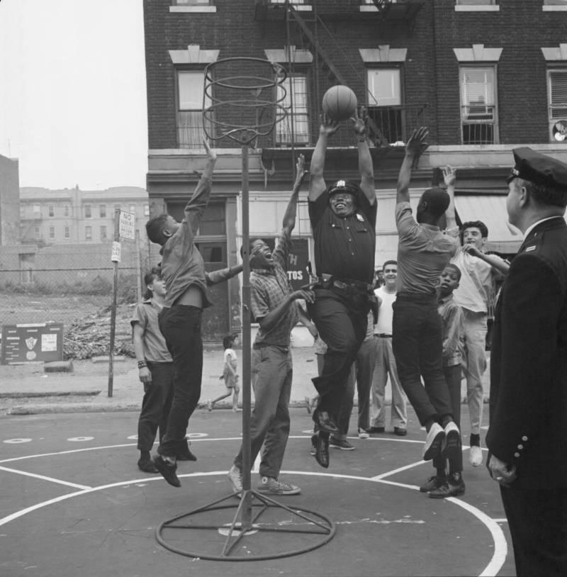 Brooklyn 60s Police Basketball
