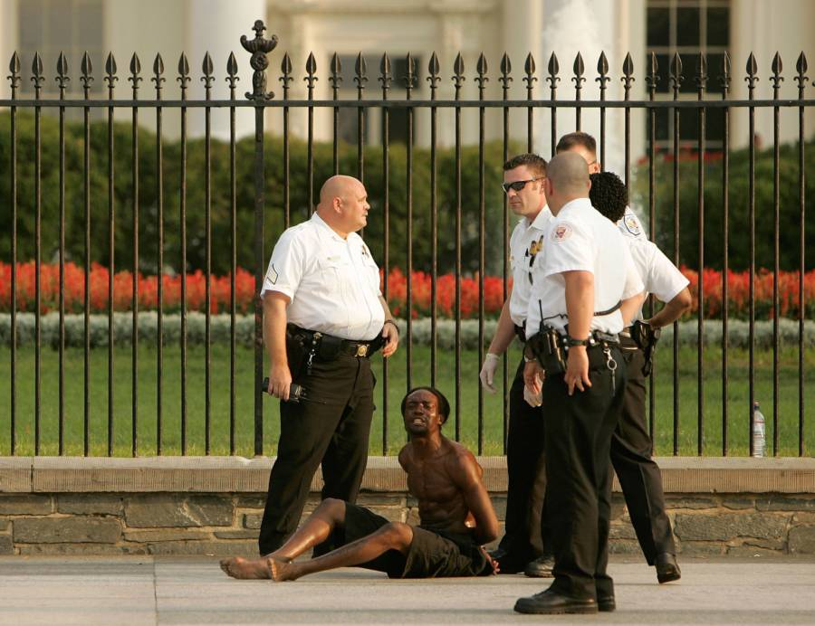 Bush Secret Service White House