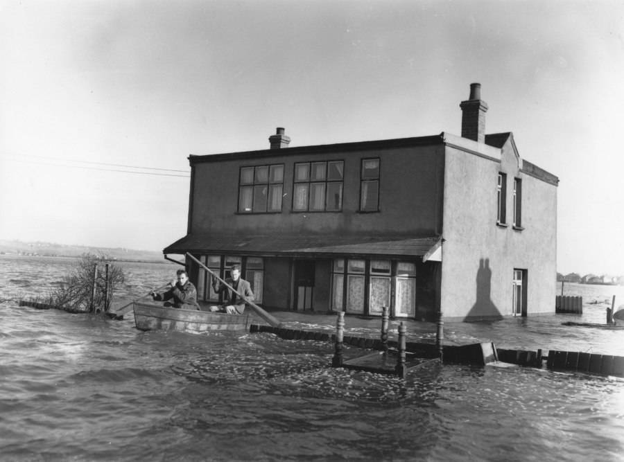 Canvey Island Flood