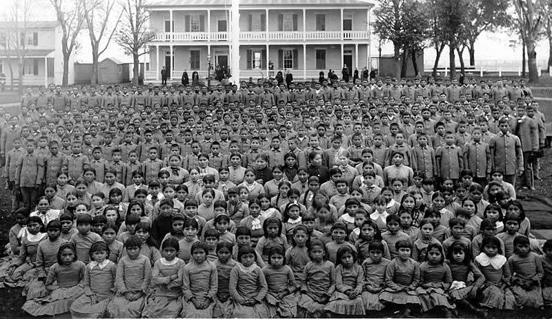 Carlisle Indian School Students