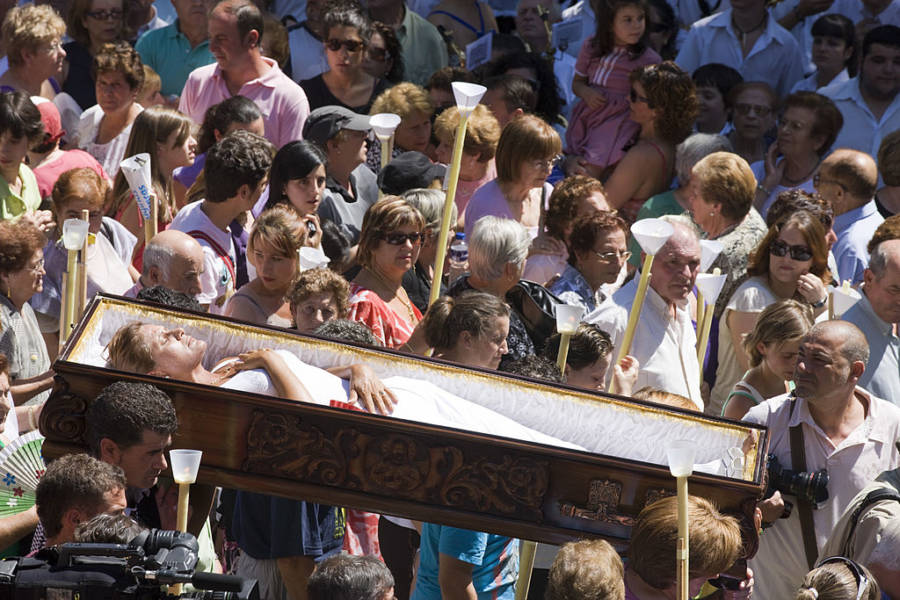 Casket Parade Spain