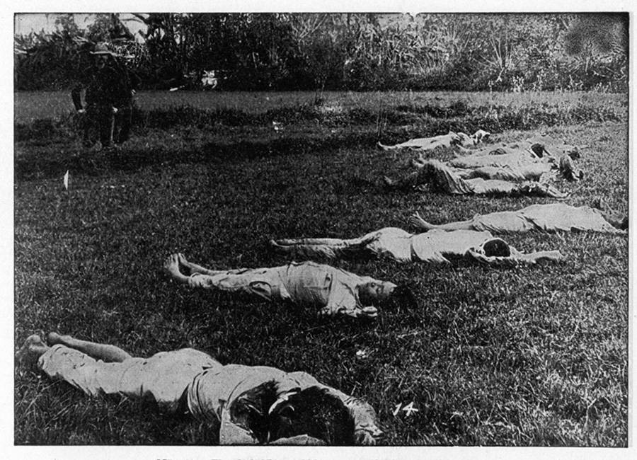 Casualties After Battle Of Caloocan