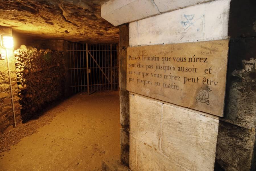 Catacombs Under Paris