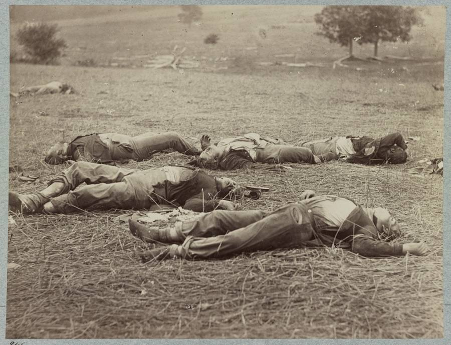 Color Civil War Photo Of Gettysburg