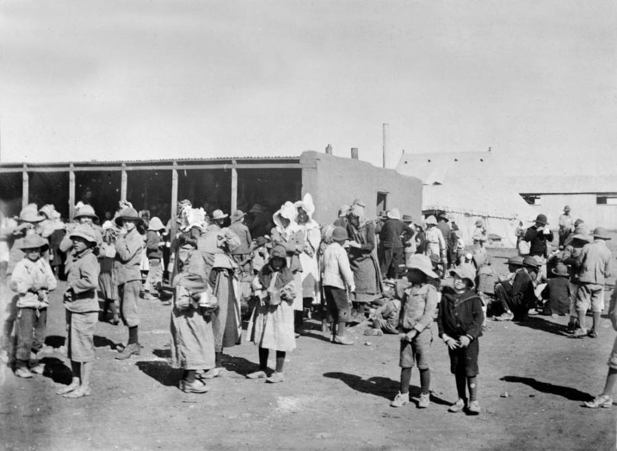 Children In Concentation Camp