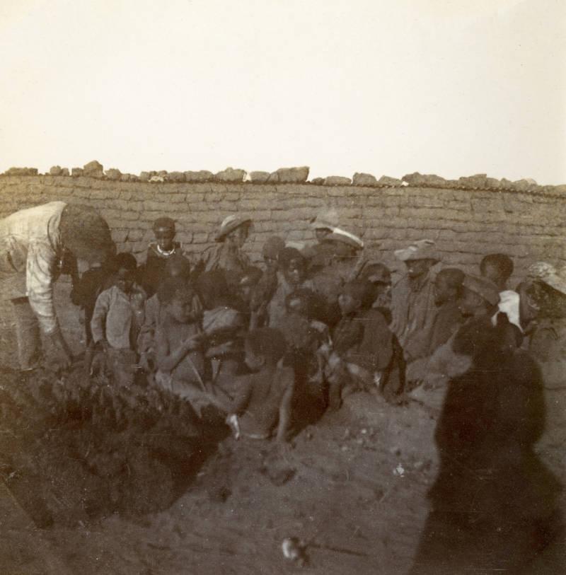 Children In Standerton Camp