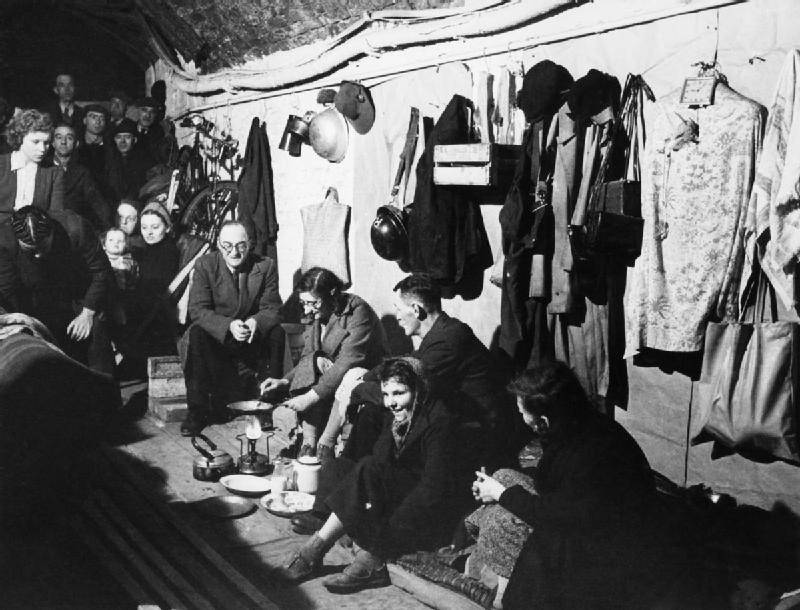 Cooking In Bomb Shelter