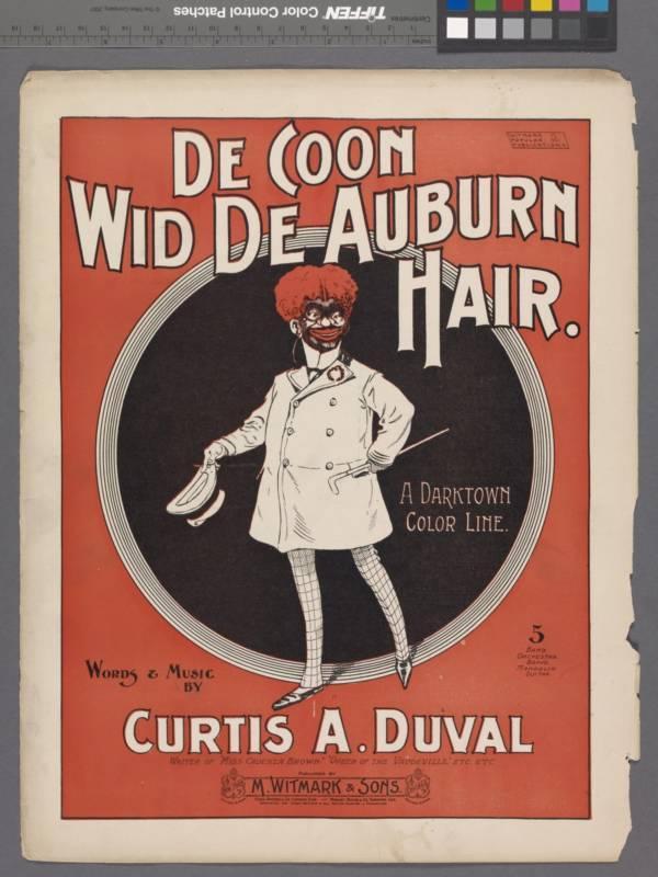 Coon Wid De Auburn Hair