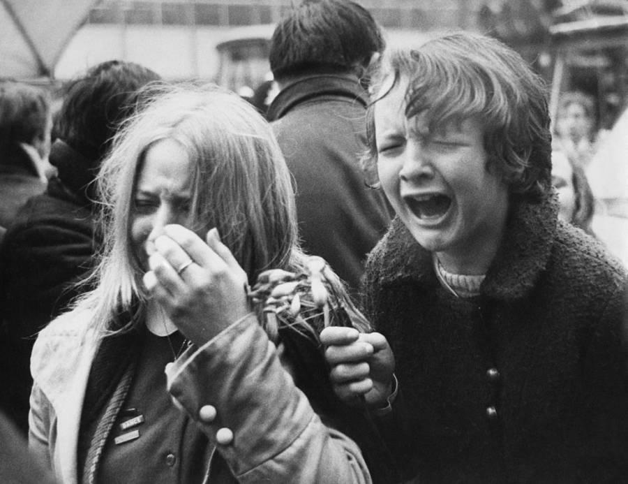 Crying Over Linda Mccartney