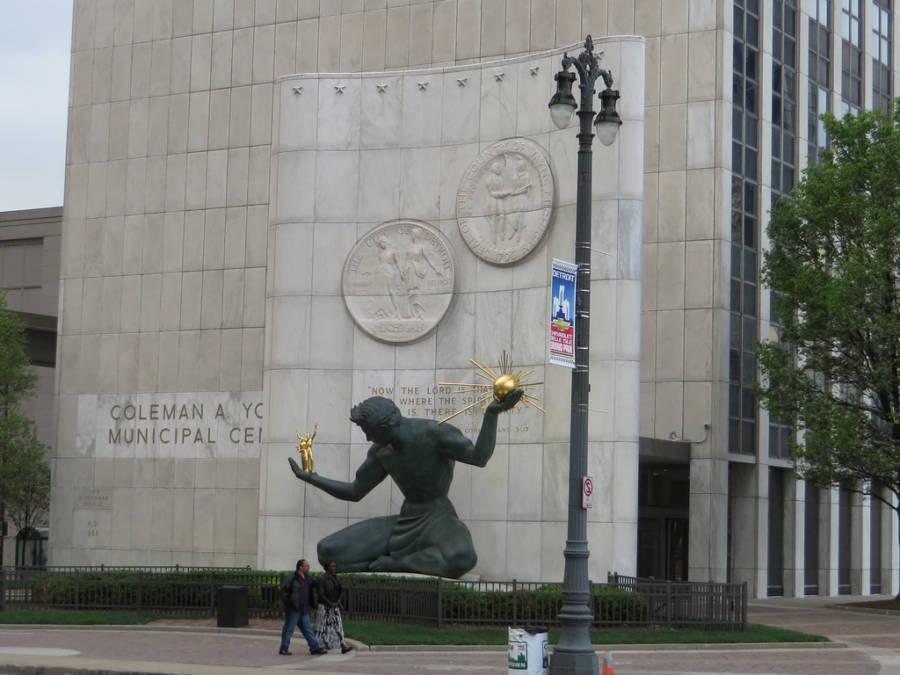 Detroit Government Building