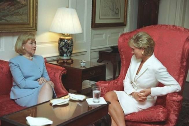 Princess Di And Hillary