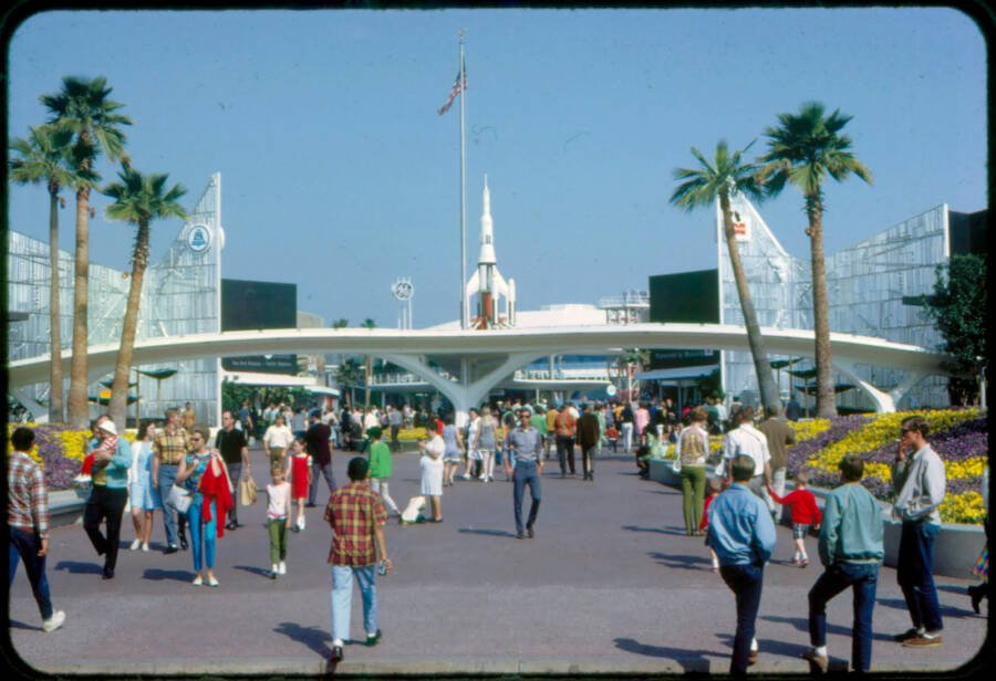 Disney Tomorrowland 1968