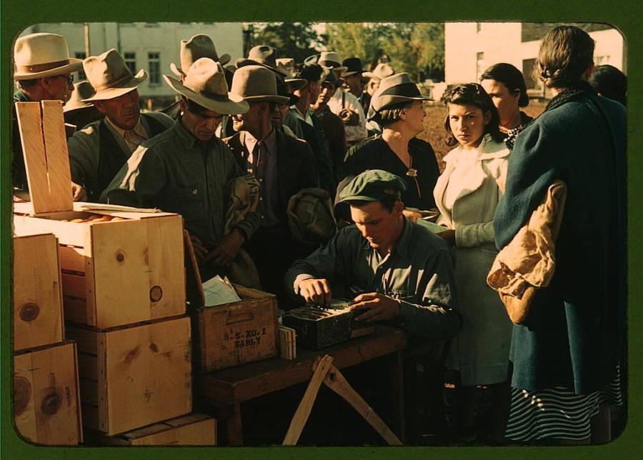 Distributing Surplus Commodities