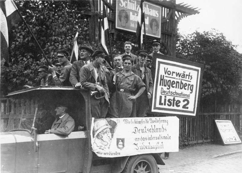 Dnvp Anti Jewish Propaganda