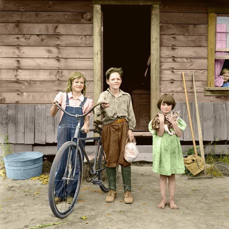 Dorothea Lange Arnold Children