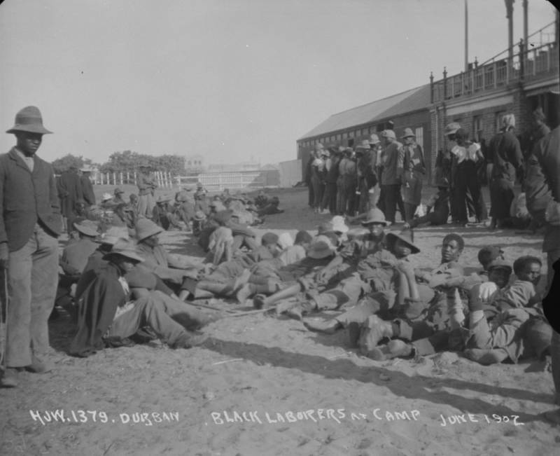 Durban Black Laborers
