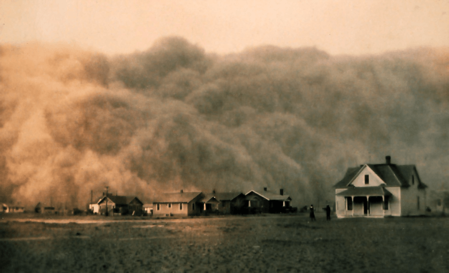 Dust Storm In Texas