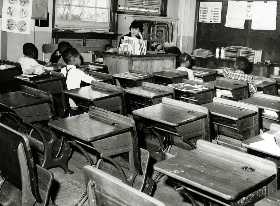 Empty Segregated School