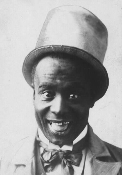 Ernest Hogan Smiling