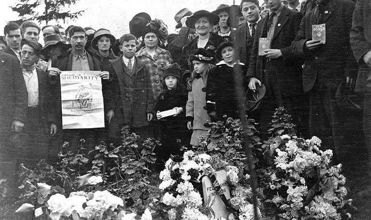 Everett Massacre Funeral